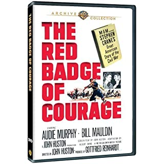 The Red Badge of Courage by Bill Mauldin, Douglas Dick Audie Murphy