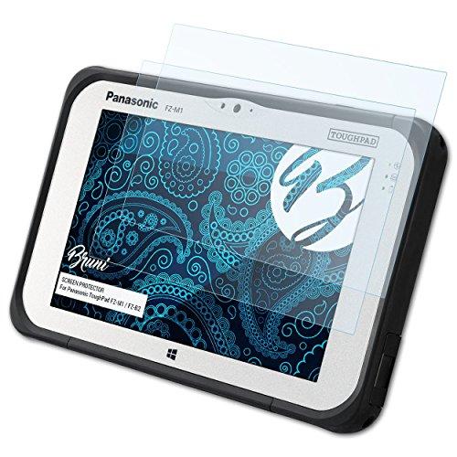 Bruni Schutzfolie für Panasonic ToughPad FZ-M1 / FZ-B2 Folie, glasklare Bildschirmschutzfolie (2X)