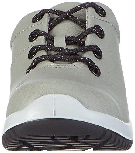 Abeba Sicherheitsschuhe uni6 1785 Halbschuh   S2 küchengeeignet Stahlkappe, Chaussures de sécurité mixte adulte Gris - Grau (schwarz)