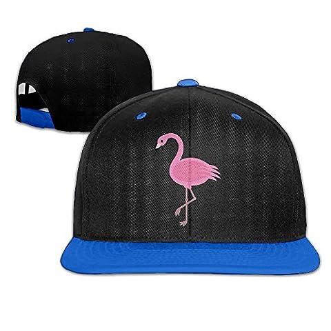 Nubia Rose Flamingo personnalisé Baseball Chapeau réglable Plat Bill Cap Rose, Homme, bleu roi
