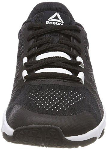 Reebok Trainflex 2.0, Zapatillas de Deporte para Mujer, Multicolor (Black/White 000), 39 EU