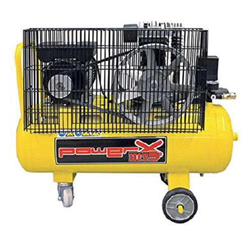 COMPRESSORE 100 LT CINGHIA OLIO ITALY 8 BAR 3 HP 2 MANOMETRI 2 CONNETTORI 250L/M
