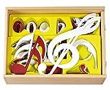 Jeu de notes adhésive-Enfants École Solfège Notes de musique notes apprendre à lire école de musique Musique Leçon pédagogiques de ressources d'apprentissage échelle Note valeurs Tons signe...