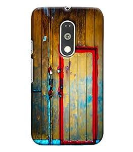 Blue Throat Printed Designer Back Cover For Motorola Moto G4 Plus