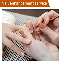 Nail Enhancement - Gel Nail Extension - Full Set with Refill - In-Home