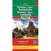 VIETNAM/LAOS/CAMBODGE  1/900.000