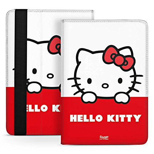 Odys Connect 8 plus Tasche Etui Stand Up Tasche Bag Hello Kitty - Cute