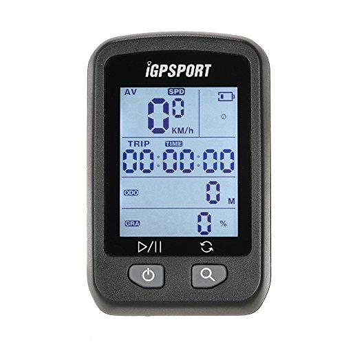 Lixada Ciclocomputer Bike GPS Computer Contachilometri IPX6 Ricaricabile Impermeabile Auto Retroilluminazione Schermo