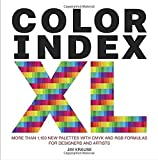 #6: Color Index XL: More than 1,100 New Palettes with CMYK and RGB Formulas for Designers and Artists