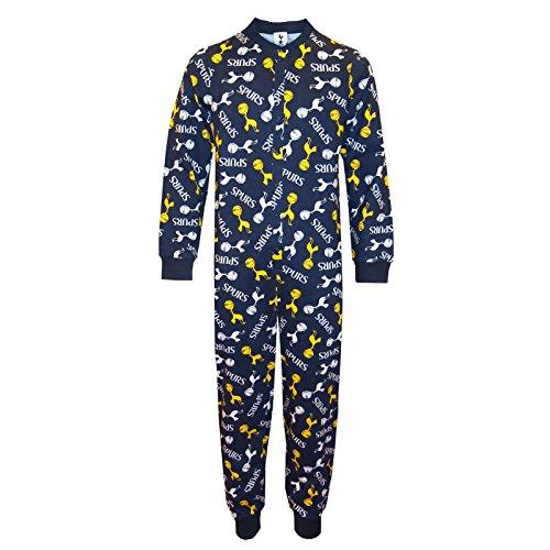 Tottenham Hotspur FC - Pijama de una pieza para niños - Producto oficial - 11-12 años