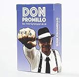 Don Promillo – Das Trink-Kartenspiel - Perfekt zum Vortrinken