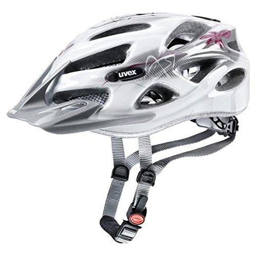 Uvex Onyx 2014 - Damen Fahrradhelm, Gr. XXS-M (52-57cm), Weiss-Rot (white-red) 4145431815