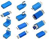 Kingtop USB 3.0 Adaptador Kit -12 Adaptadores Acoplador