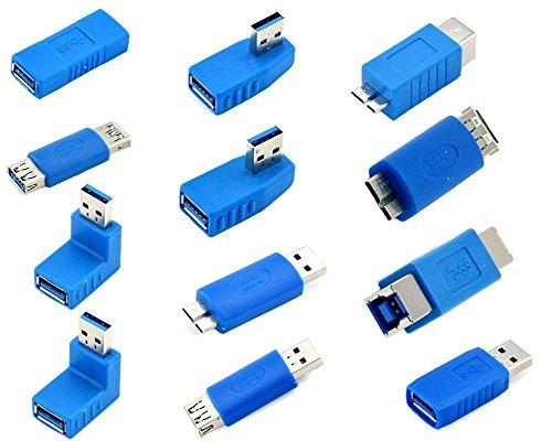 KingTop USB 3.0 Adapter Kit -12 Adapter-Koppler