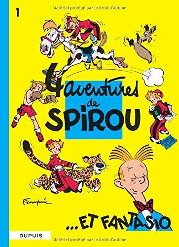 Spirou et Fantasio - tome 1-4 AVENTURES DE SPIROU ET FANTASIO por Franquin