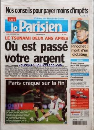 PARISIEN (LE) [No 19365] du 11/12/2006 -...