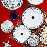 Kütahya Porselen Leonberg 24 Parça Yemek Takımı Yaz Dönencesi Model 5229, 6 Kişilik Yemek Seti