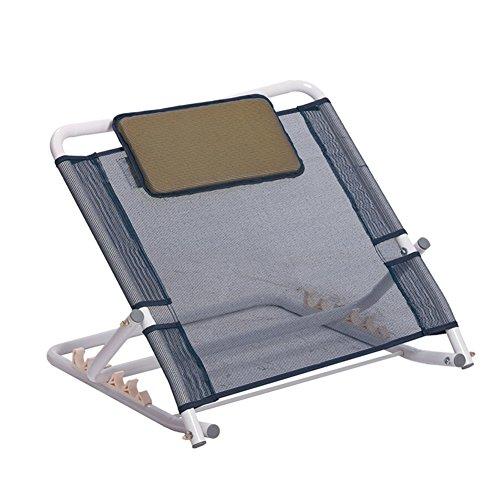 LIANGLIANG Boden Stuhl Strand Faltbare Tragbare Rückenlehne Halterung Hinten Zurück Stuhl Hellgrau, 59 * 56 * 47 cm