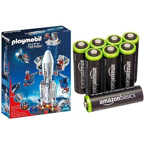 Playmobil - Cohete con plataforma de...