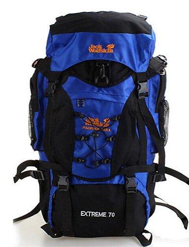 HWB/ 70L L Tourenrucksäcke/Rucksack / Radfahren Rucksack / Rucksack Camping & Wandern / Klettern / Reisen Outdoor / Legere SportWasserdicht / Blue