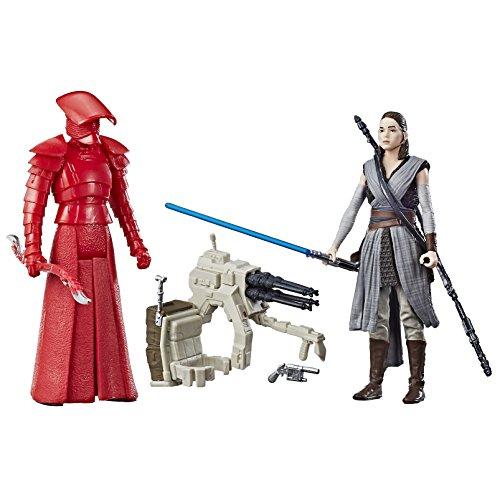 Star Wars Figura C1243 SW, SWU, 1 gris y guarda pretoriano, 9,5 cm