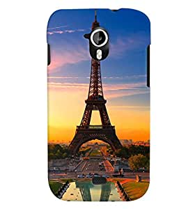 TOUCHNER (TN) Royal Eifil Back Case Cover for MICROMAX A116