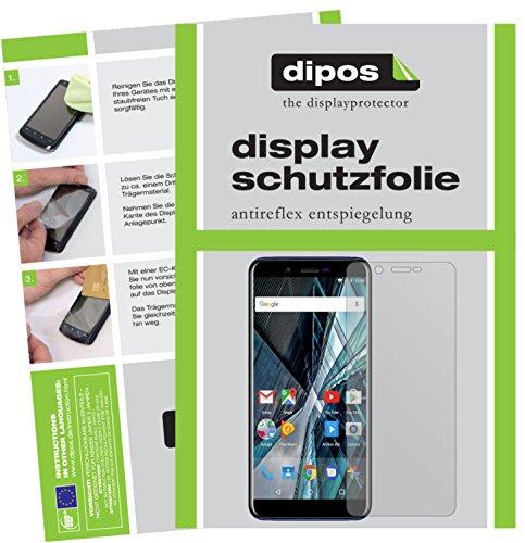 dipos I 6X Schutzfolie matt passend für Archos Core 57S Folie Bildschirmschutzfolie