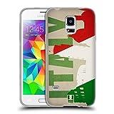 Head Case Designs Italien Flaggen Und Wahrzeichen Soft Gel Hülle für Samsung Galaxy S5 mini