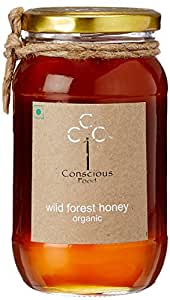 Conscious Food Wild Forest Honey, 500ml