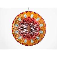 Spin Art Premium Mandala sol Multi Color Wind Spinner (30,5 ...