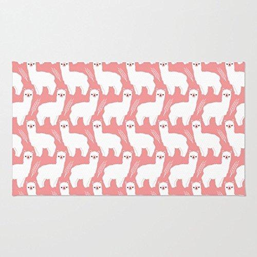Fisher Fox Coral Fleece-Fußmattenabdeckung für Badezimmer/Küche/Arbeitsplatz Dekor Mat 16 x 24,40 cm x 60 cm
