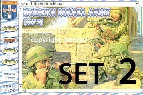 Orion ORI72040 - Modern Army Israel set 2, Resin Bausätze
