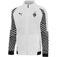 Puma BMG Stadium Jacket Jr Chaqueta, Infantil, White, 152