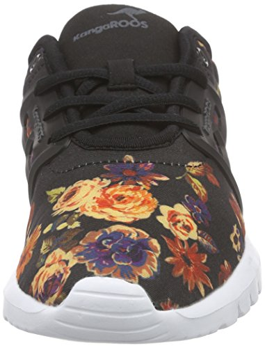 KangaROOS - K-x 8203, Scarpe da ginnastica Donna Multicolore (Mehrfarbig (rose flower 641))