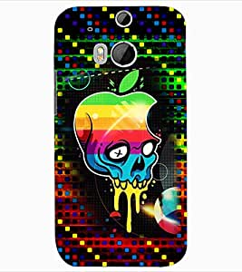 ColourCraft Funny Image Design Back Case Cover for HTC ONE M8