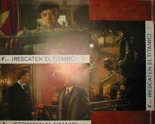 Fotocromos en color, juego de 3 de la película : ¡RESCATEN EL TITANIC!