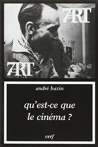 Qu'est-ce que le cinéma ?
