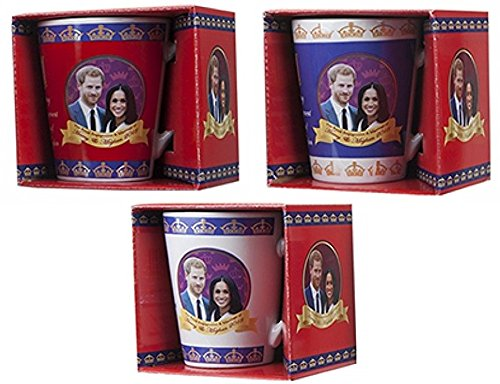 Toyland® Prinz Harry & Meghan Markle Königliche Hochzeit 2018 Gedenkbecher