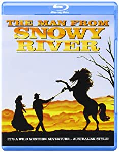 Man From Snowy River [Blu-ray] [Import anglais]