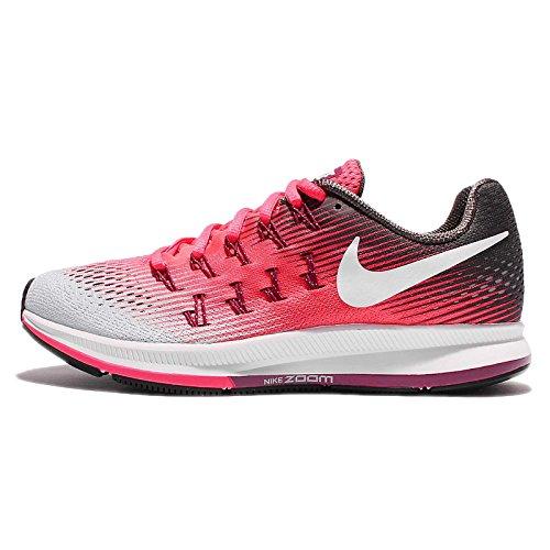 Zapatillas de running Nike Air Zoom Pegasus 33 Pure Platinum / White Black Volt 7 Mujer EE. UU.