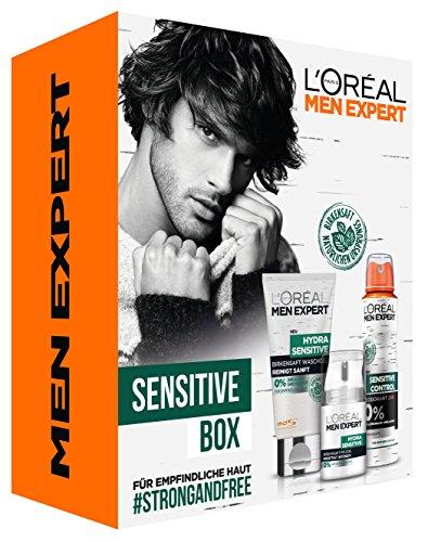 L 'Oréal Men expert Sensitive Box Cuidado Set
