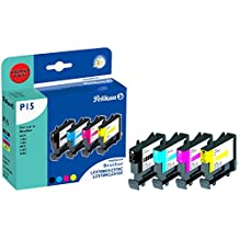 Pelikan 360670 - Cartucho de tinta Brother MFC-260 - LC970 PACK ( Colores y Negro )