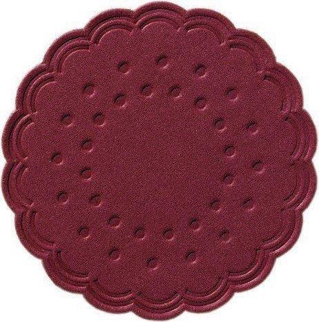 Duni Untersetzer 8lagig Tissue Uni bordeaux, ø 7,5 cm, 250 Stück