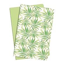 SIGEL JN707 Booklets Jolie, approx. A5, lined, Green Meadow, set of 2