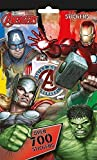 Wow Party Supplies Marvel Avengers 700Stickers Collection Lot
