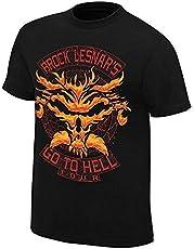 star footware Men's Black Cotton Suplex City t Shirts of Brock Lesnar WWE t Shirts for Men (Black Tshirts for Mens_WWE Brock Lesnar_Medium)