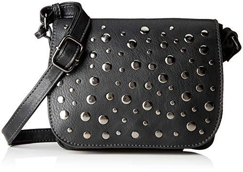 TOM TAILOR für Frauen Taschen & Geldbörsen Überschlagtasche Soraya schwarz/black, OneSize -