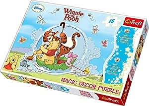 TREFL - Puzzle Winnie The Pooh de 15 Piezas (39.8x26.6 cm) (14602) (Importado)