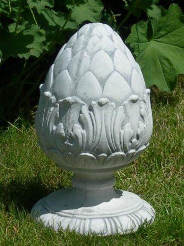 Dekorationselement Pinienzapfen Höhe 28 cm Gartendeko aus Beton