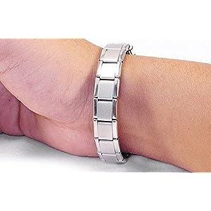Select Damen-Armband, umwerfend, magnetisches Armband für Arthritis-Schmerzlinderung, Hilfs-Armband, Titan, erweiterbar und verstellbar